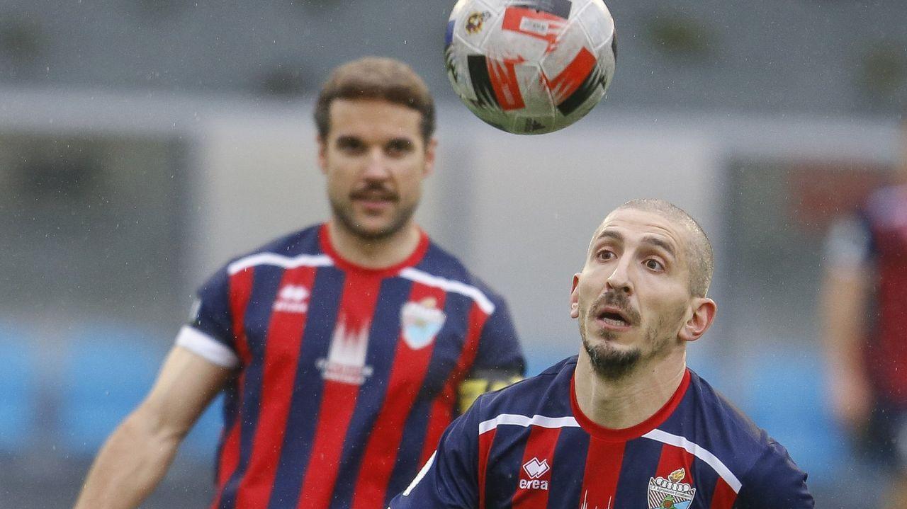 Arousa-Alondras (0-0), de la última jornada de la primera fase, este domingo