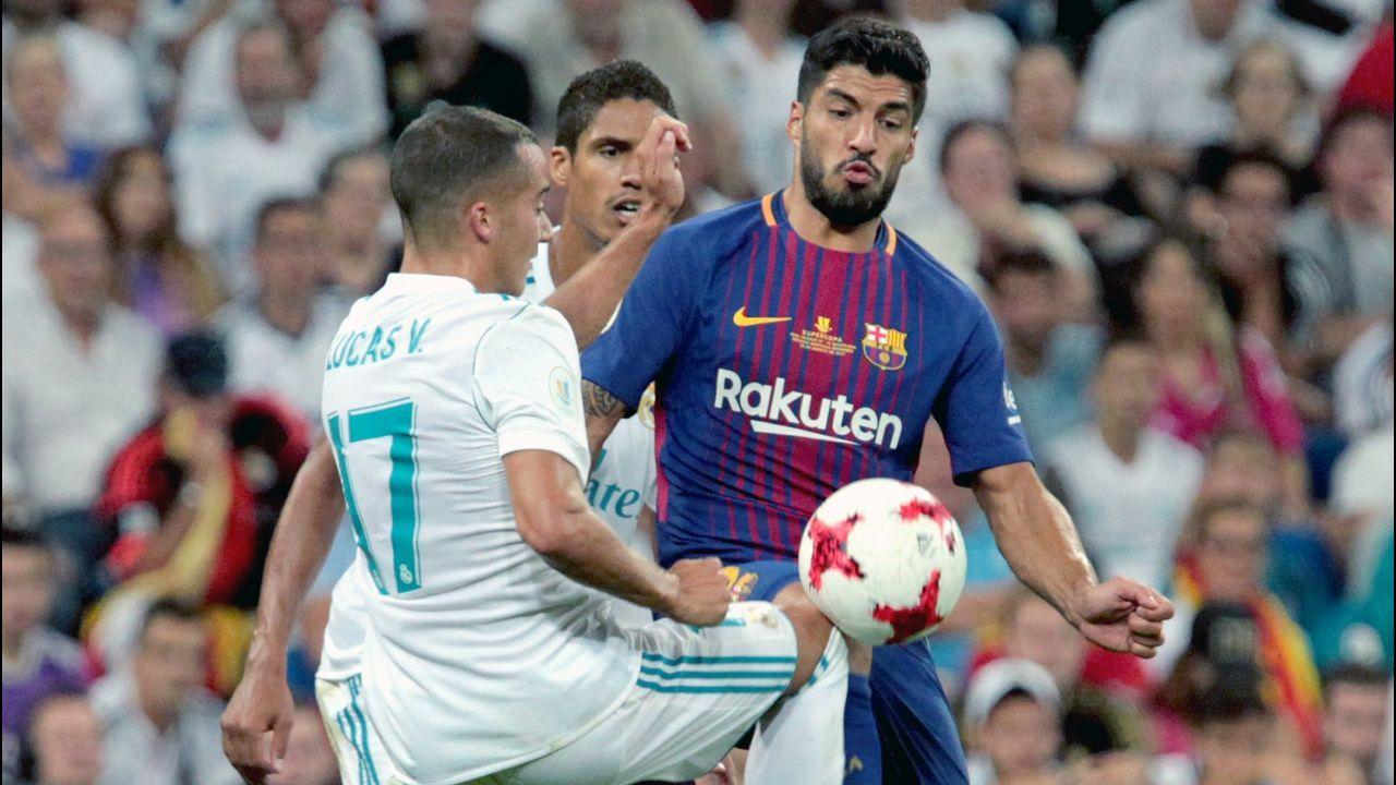 Las imágenes del Real Madrid Castilla - Racing