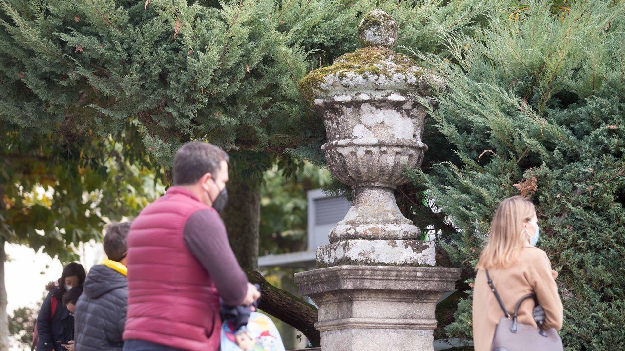 Resto del viejo cementerio de Ramón Ferreiro