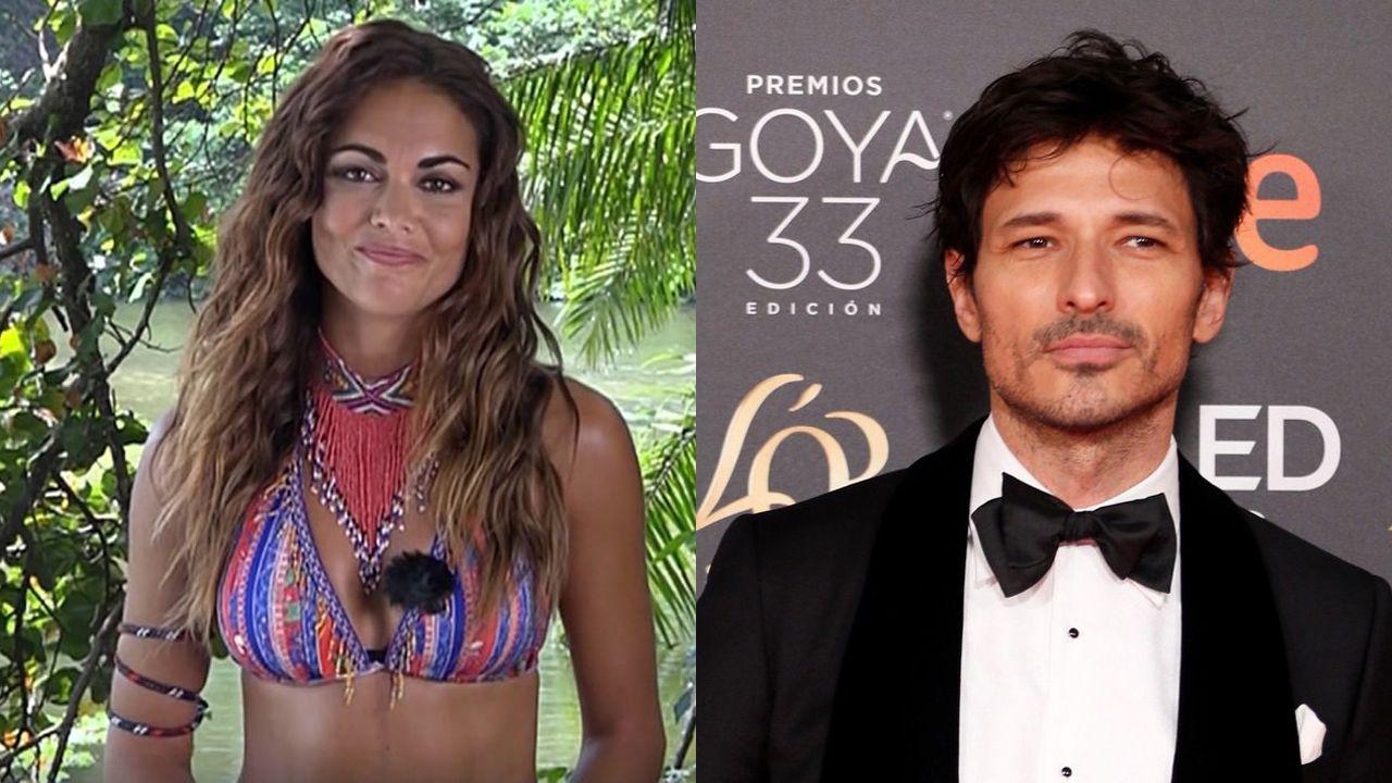 «Eu non son moi de cine, e de televisión menos. Radio si».Lara Álvarez y Andrés Velencoso
