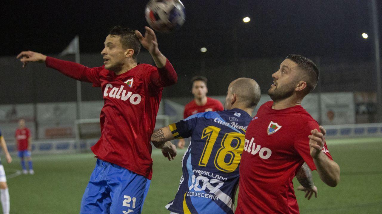 El obús hallado en Corme fue detonado en la cantera pontecesana López Cao.Lamelas destacó por el Bergan: peleó, creó peligro y dio la asistencia del primer gol