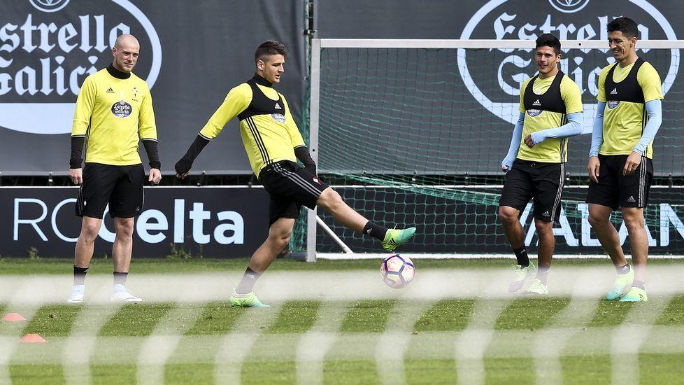 El Real Madrid ya está en Vigo