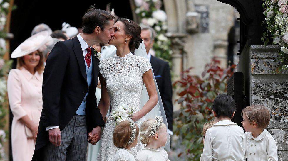 Pippa Middleton da el sí quiero a James Matthews