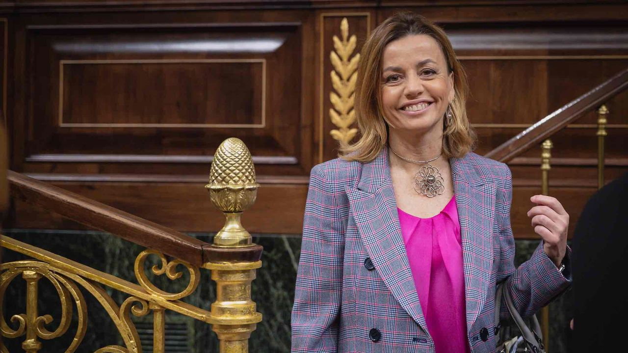 Ana Zurita, diputada del PP, ponente de la proposición de ley contra los okupas