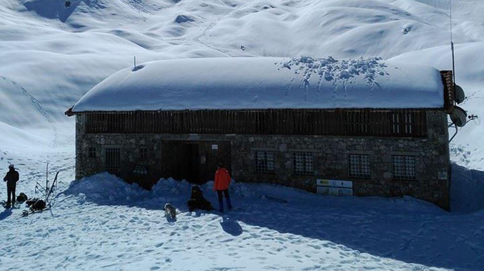 El refugio de Vegarredonda, en Picos de Europa. ARCHIVO