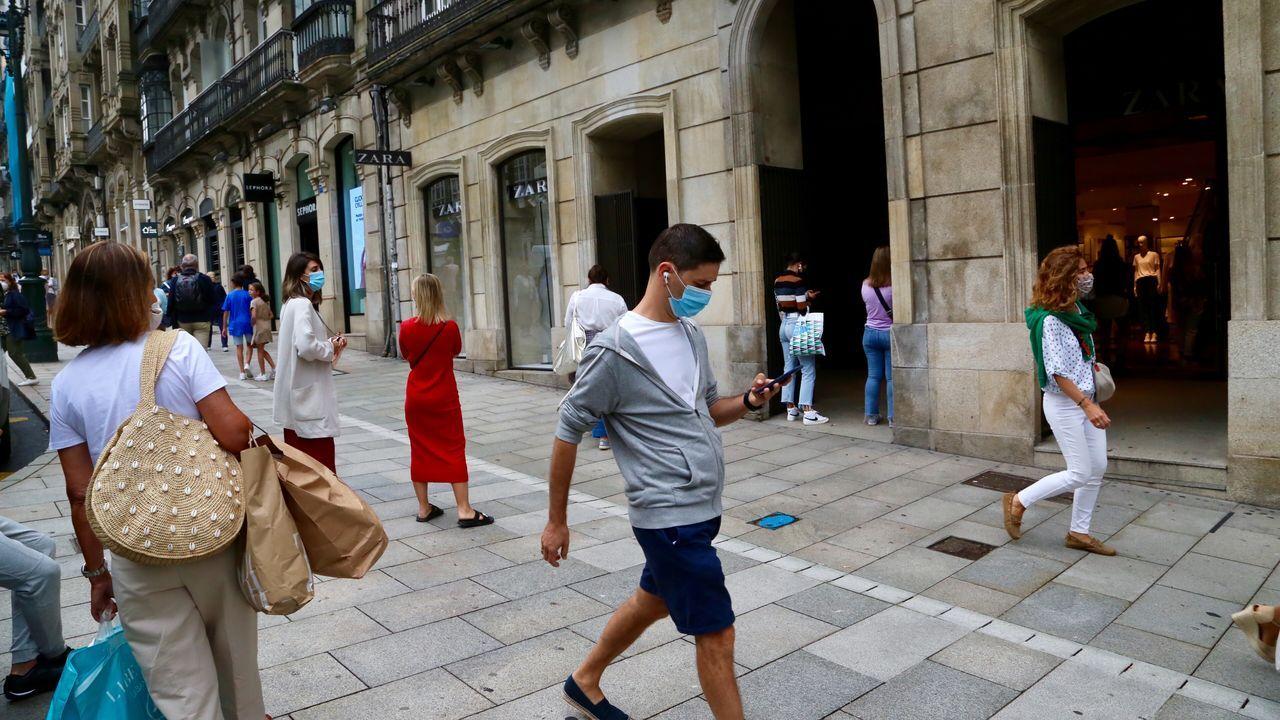 Dude With Sign en una de las imágenes en colaboración con Zara