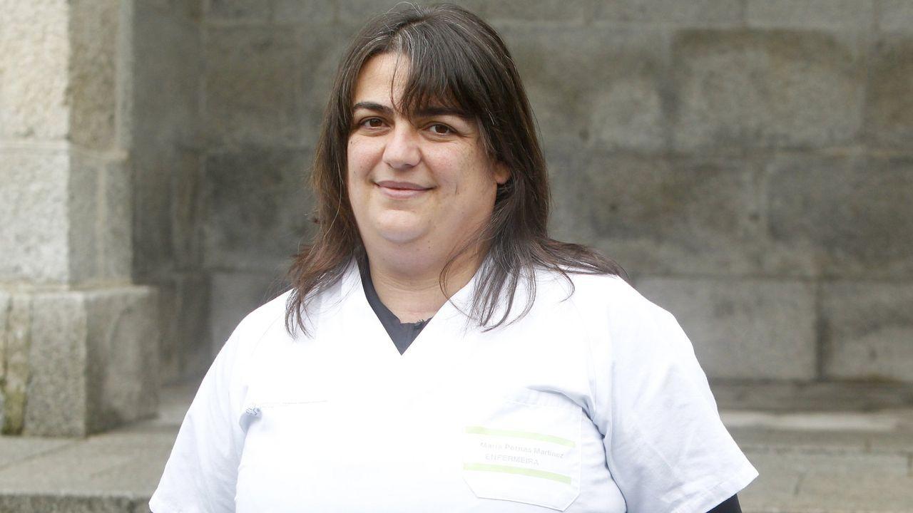 María Jesús Pernas Martínez, enfermera que acudió a muchas casas de positivos a tomar muestras