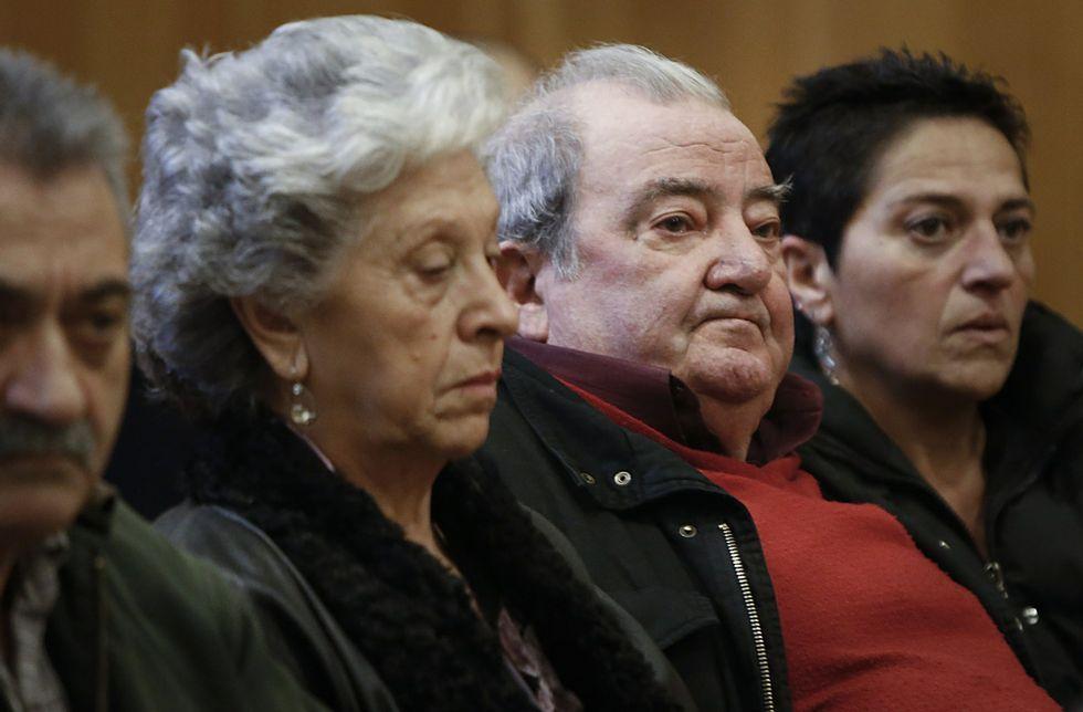 Entrevista a Raquel Gago horas antes de entrar en prisión.El matrimonio lalinense y su hija en el juicio celebrado en la Audiencia de A Coruña.