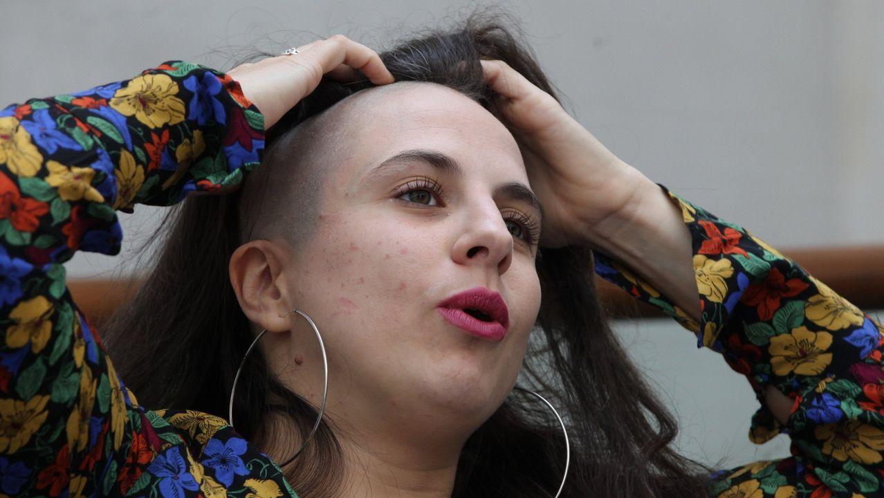 Cristina Morales, en una visita reciente a Ciudad de México