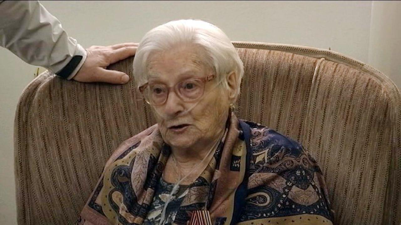 La asturiana Emilia Fernández Cueli, una «niña de la guerra» que fue evacuada a la Unión Soviética en 1937. Ayer murió en Avilés a los 96 años