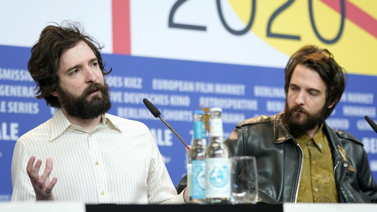 Los hermanos cineastas D'Innocenzo, Fabio y Damiano