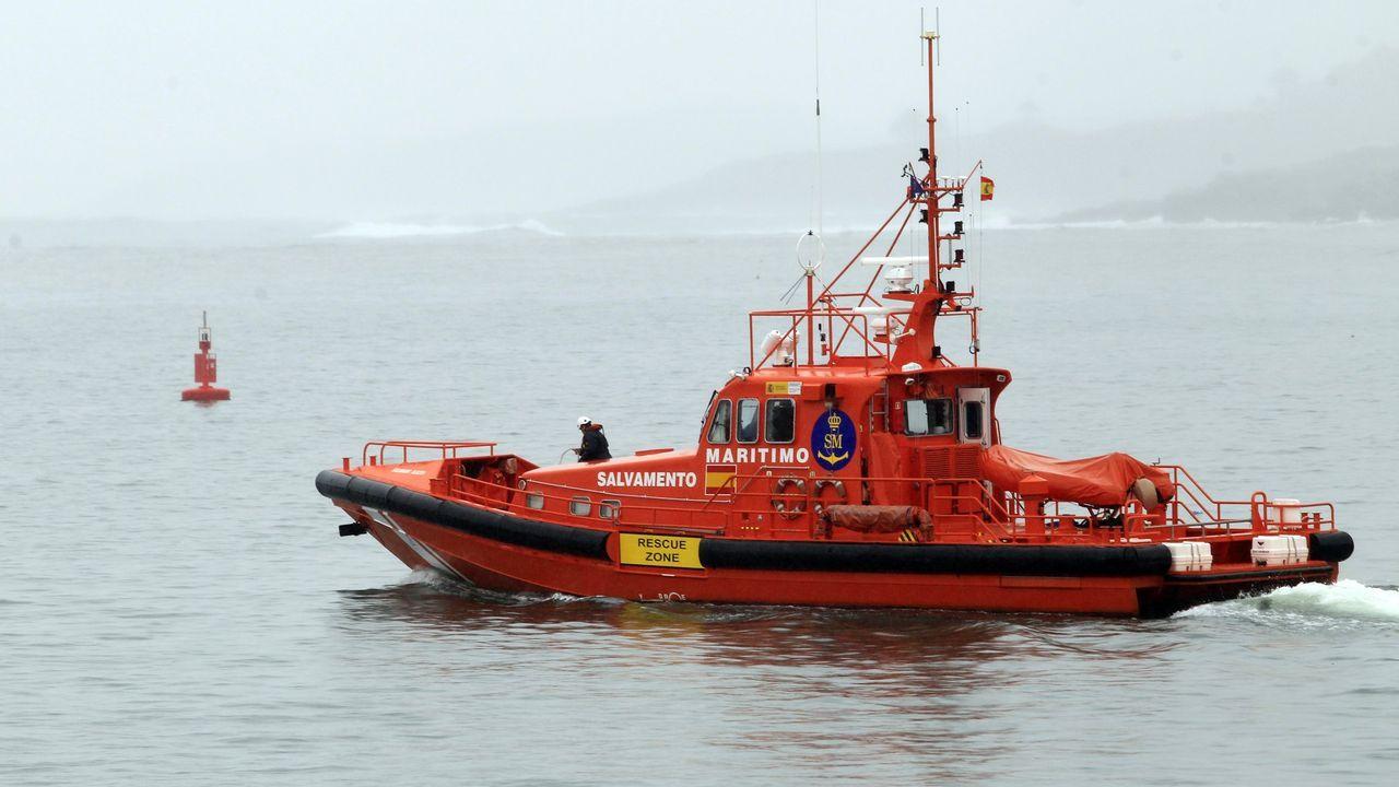 El helimer de Salvamento Marítimo de Gijón.El helimer de Salvamento Marítimo de Gijón