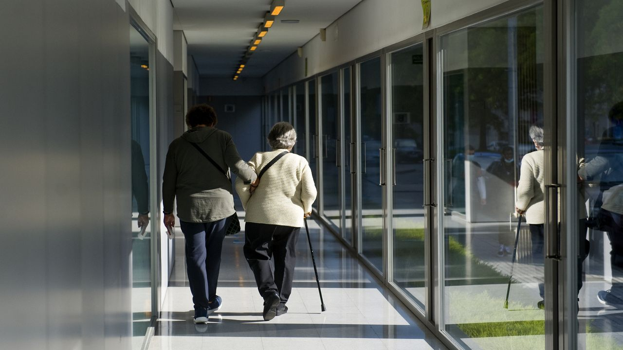 Centro de salud de Os Mallos, en A Coruña