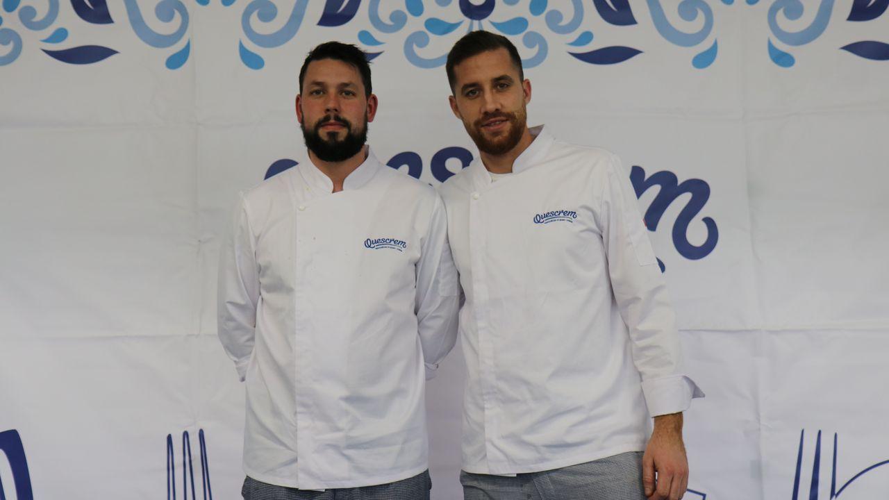 Adrián Sánchez y Eduardo Recio son los autores del menú.