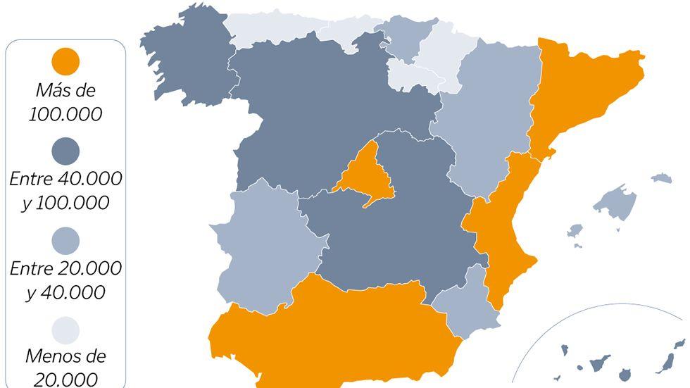 Los autónomos en Galicia