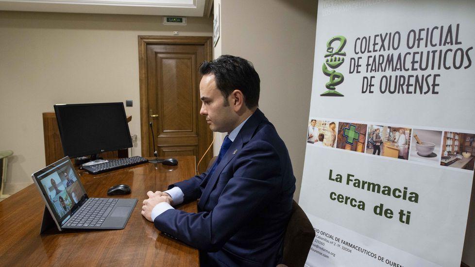 El Colegio de Farmacéuticos de Ourense y R colaboran con Cruz Roja y la Escola de Saúde Rural da Limia