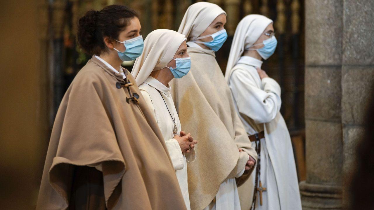 Domingo de resurrección en la catedral de Ourense