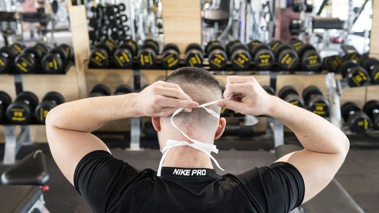 Algunos gimnasios húngaros han empezado a reabrir, pero con estrictas medidas higiénicas