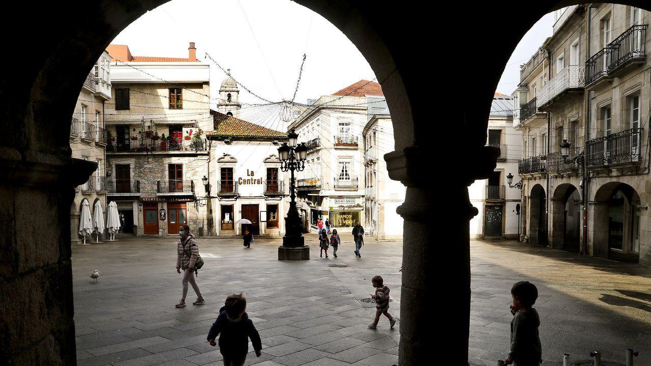 Primer fin de semana sin hostelería en Vigo