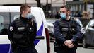 Agentes de la Policia francesa