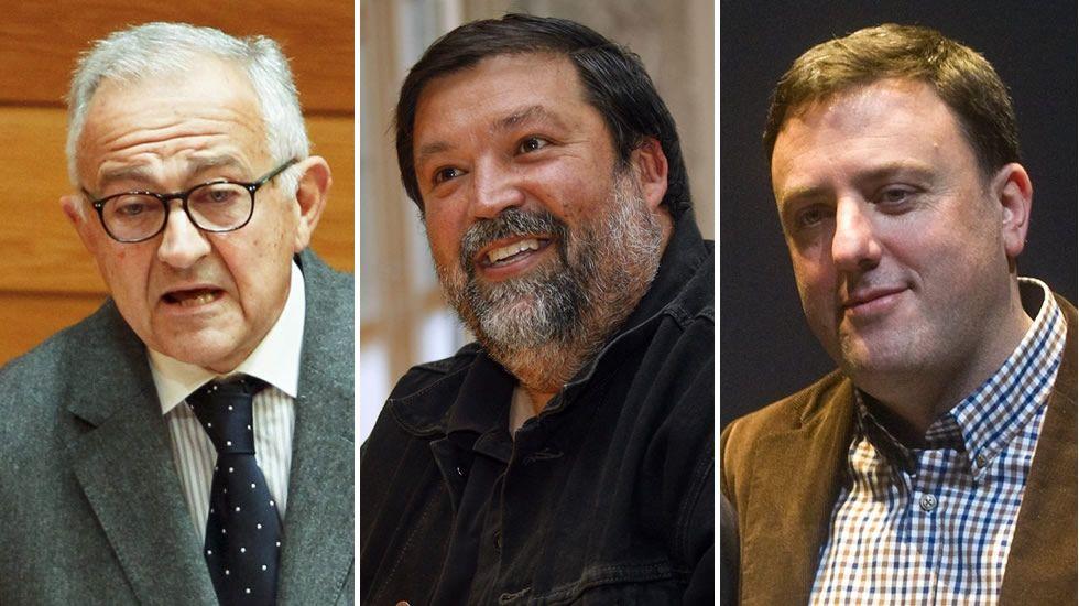 «Onde máis posibilidade de cambio hai é nesta candidatura».Méndez Romeu, Caamaño y González Formoso