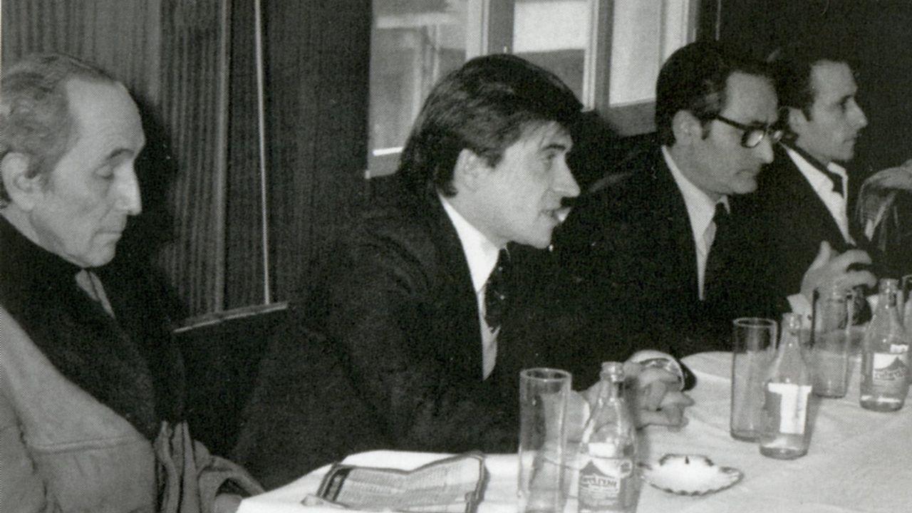 Cuíña, candidato en 1979 a la alcaldia de Lalín