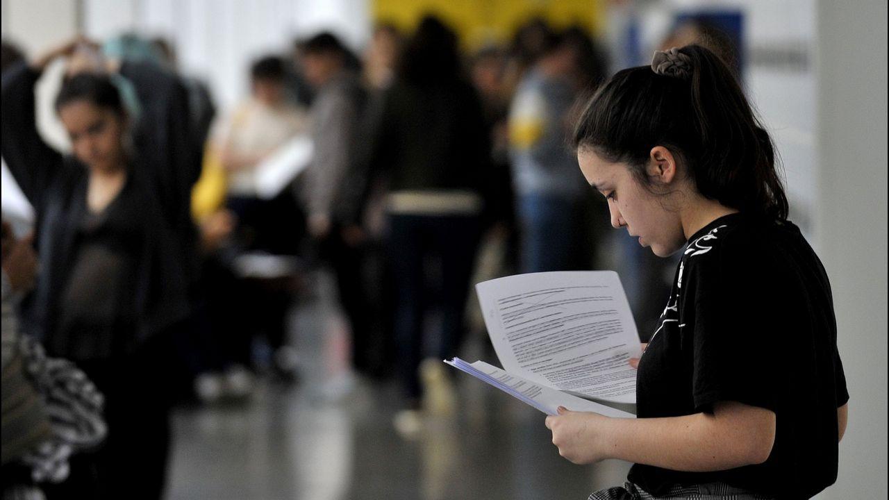 Exámenes de selectividad 2019 en el Campus de Ferrol