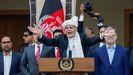 Ashraf Ghani jura como presidente de Afganistan