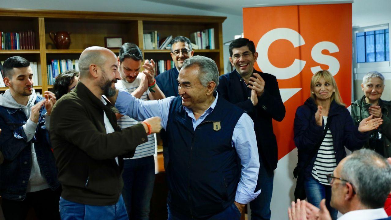 José Araújo pasó del PP a Ciudadanos en Ourense