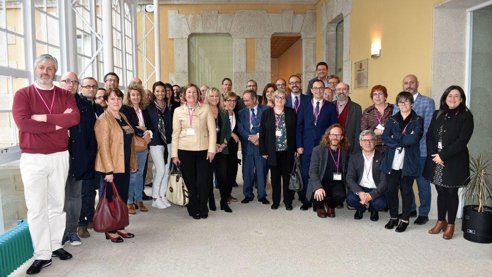 Reunión de los decanos de Humanidades en Ferrol