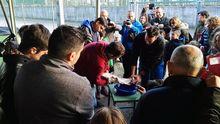 El desove de 2017 organizado por la Sociedad de Pescadores Las Mestas