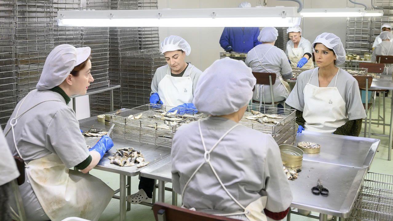 Escenas rodadas en la fábrica La Pureza de Cariño