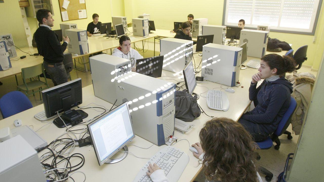 El Centro de Formación Profesional Rodolfo Ucha, en foto de archivo