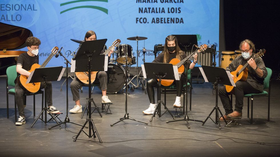 Concierto de fin de curso en el Conservatorio de Carballo: las imágenes