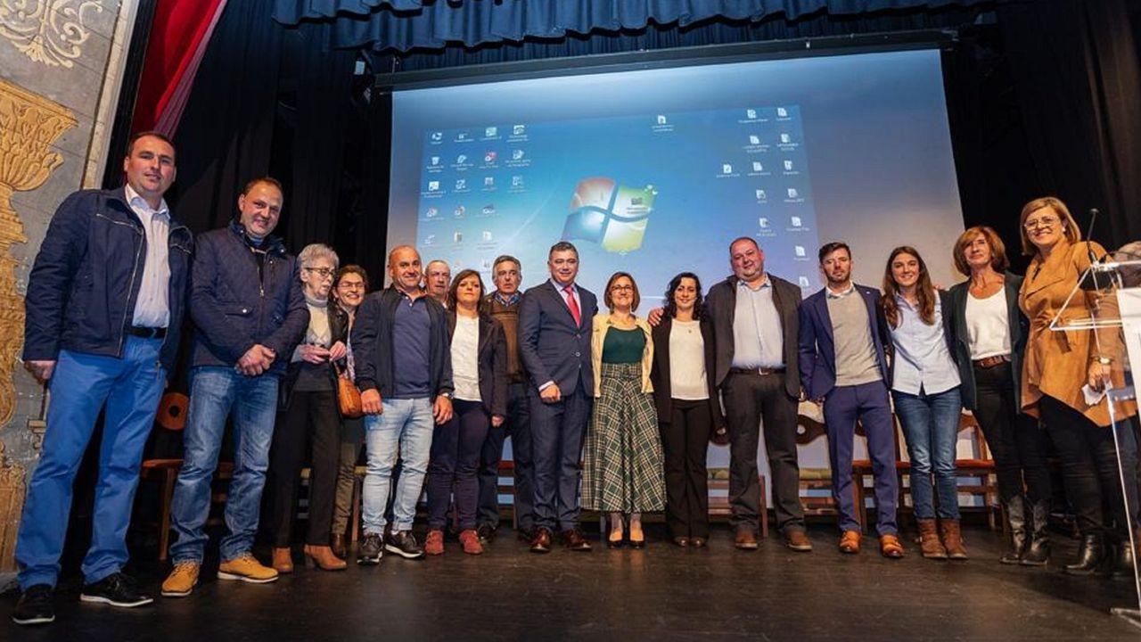 Presentación de la candidatura del PSOE en el Teatro de Beneficencia, en abril de 2019