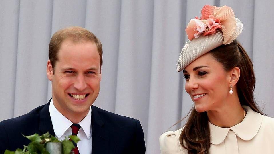 El «baby boom» de las famosas.La duquesa de Cambridge en su último acto oficial.