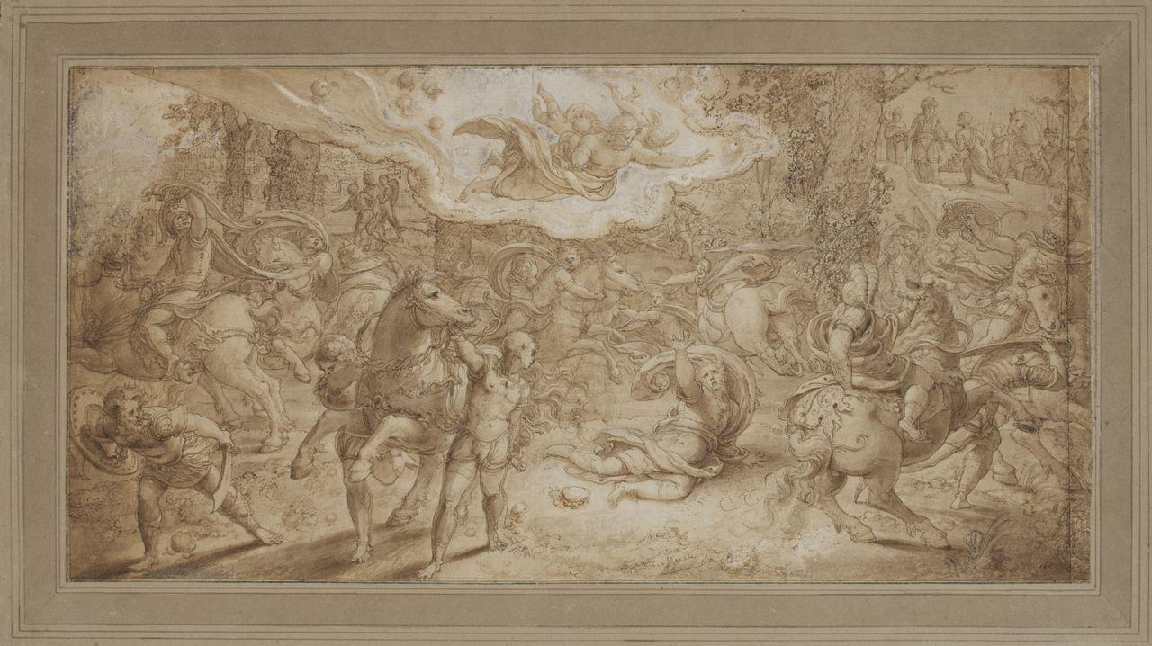 «La conversión de San Pablo», de Pieter Coecke van Aelst