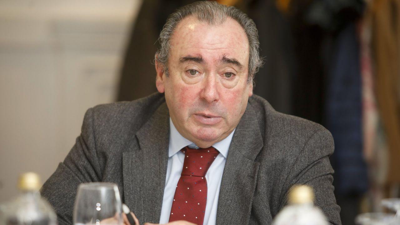 Ramón Ares, gerente del área sanitaria de Lugo