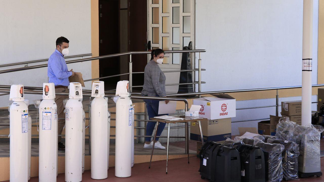 Fallecen cuatro usuarios del asilo de Vilalba