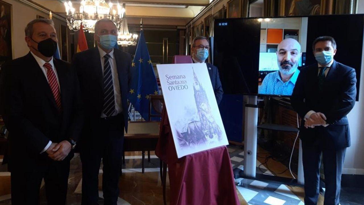 Presentación de la Semana Santa de Oviedo