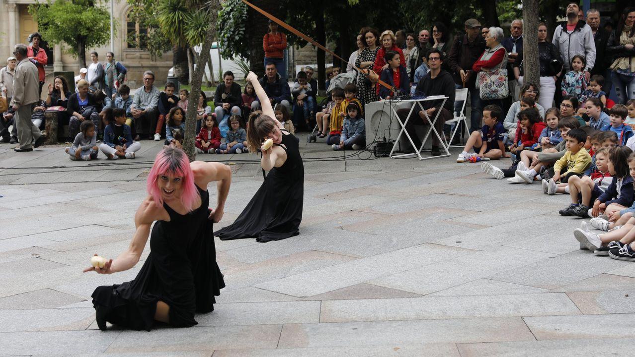 Actuación del dúo el verano pasado en Ourense