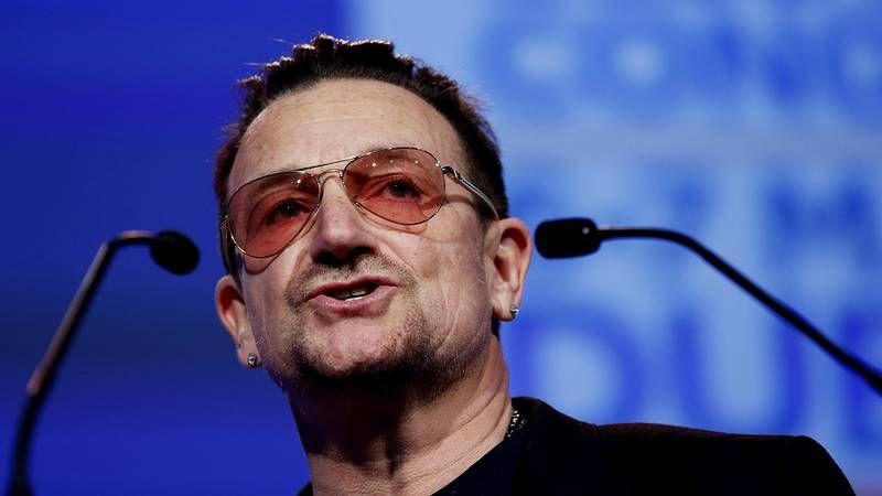 Bono, el líder de U2, critica la falta de apoyos a la economía española