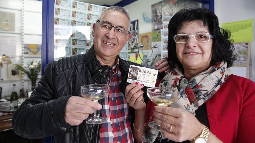 Una administración de Lotería de Bande vendió 170 décimos, 1.020.000 euros, del 00943