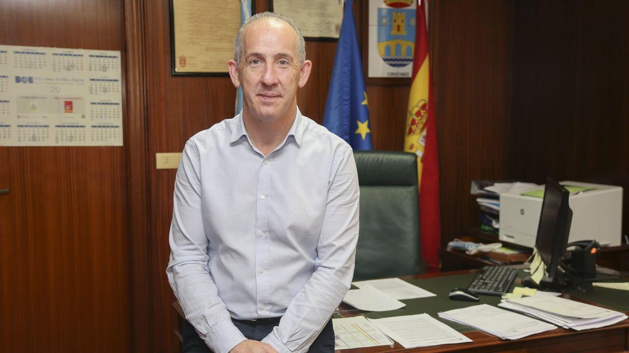 Pablo Junceda.Polígono industrial de A Laracha