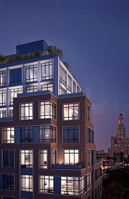 Edificio «The Boerum», en Brooklyn, donde ahora trabaja la compostelana
