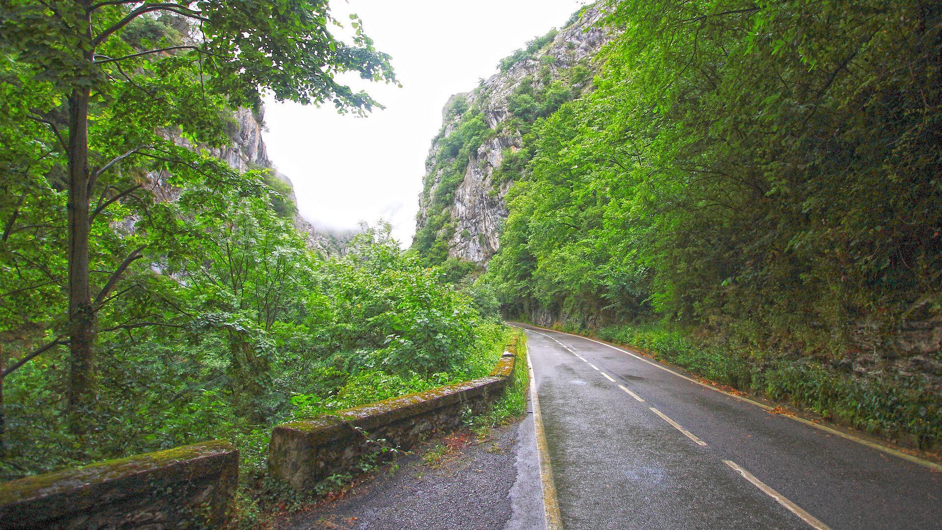 Desfiladero de Los Beyos y Puerto del Ponton