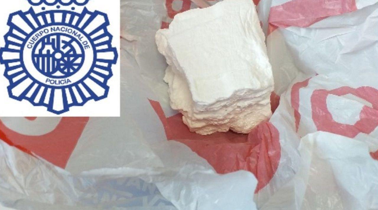 La Guardia Civil de Becerreá desmantela un punto de drogas en la comarca de Os Ancares.Praza de Augas Férreas donde se instalarán terrazas