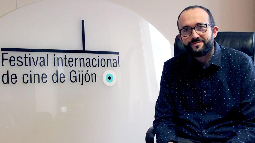 Los actos de la entrega de Medallas de Asturias.Alejandro Díaz Castaño, director del FICX