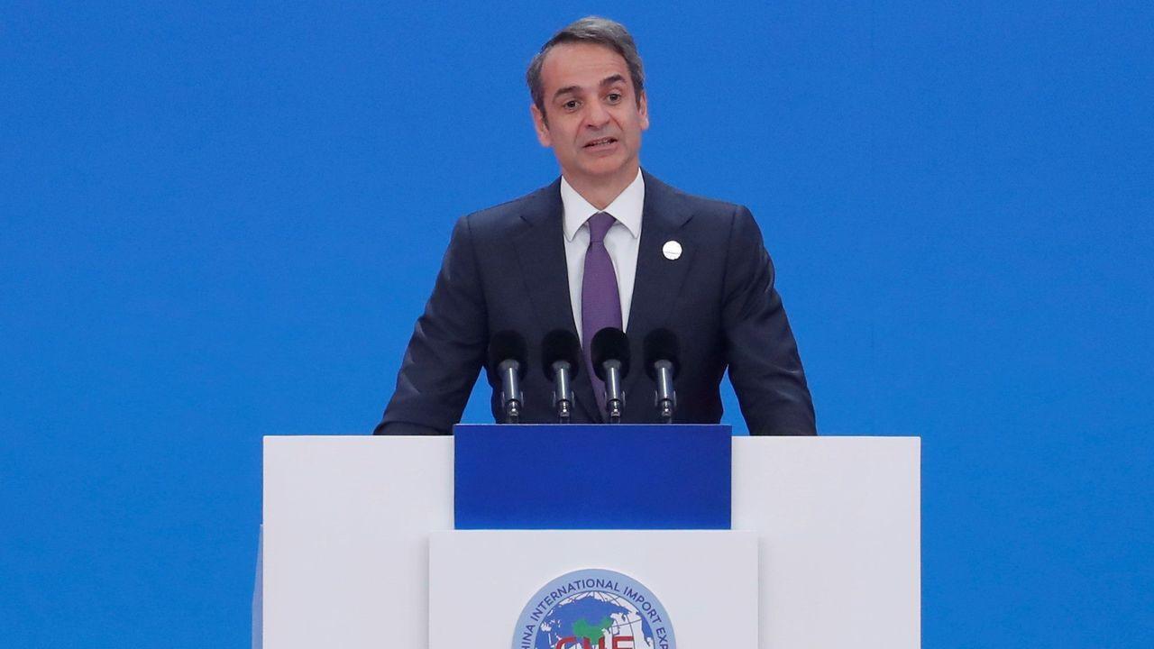 El primer ministro griego, Kiriakos Mitsotakis