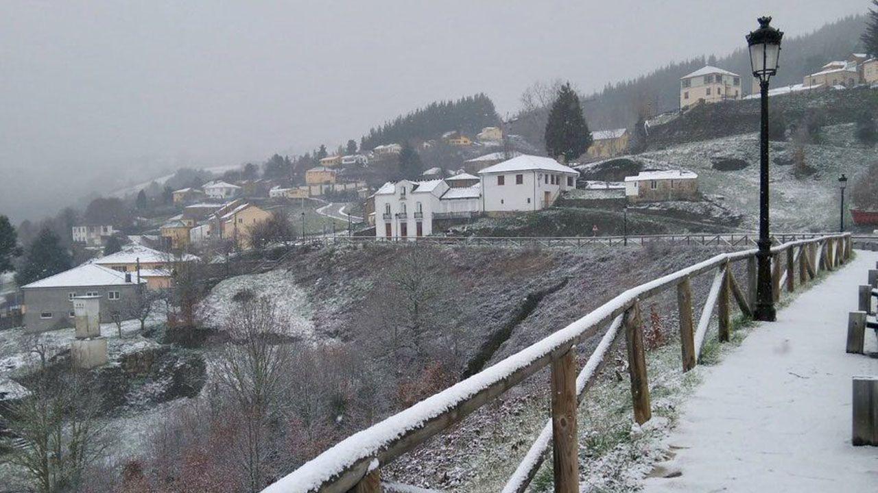 Así amanecía en Santa Eulalia de Oscos